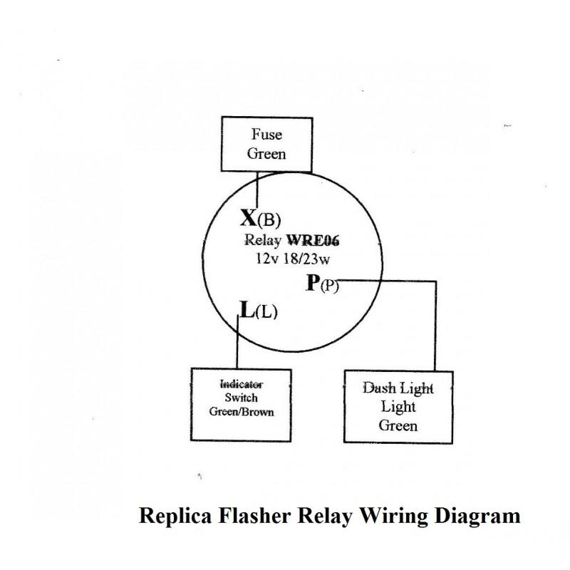 Lucas Flasher Unit Wiring Diagram from www.isetta.org.uk
